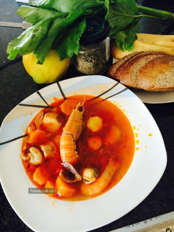 Каталонский суп изморепродуктов «рыбацкий» http://amp.gs/TPGf  #рецепт #foodclub #суп
