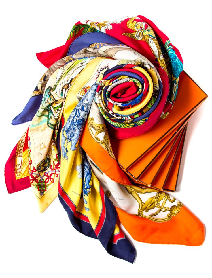 01-13-2015 Product Combo // Hermes Scarves