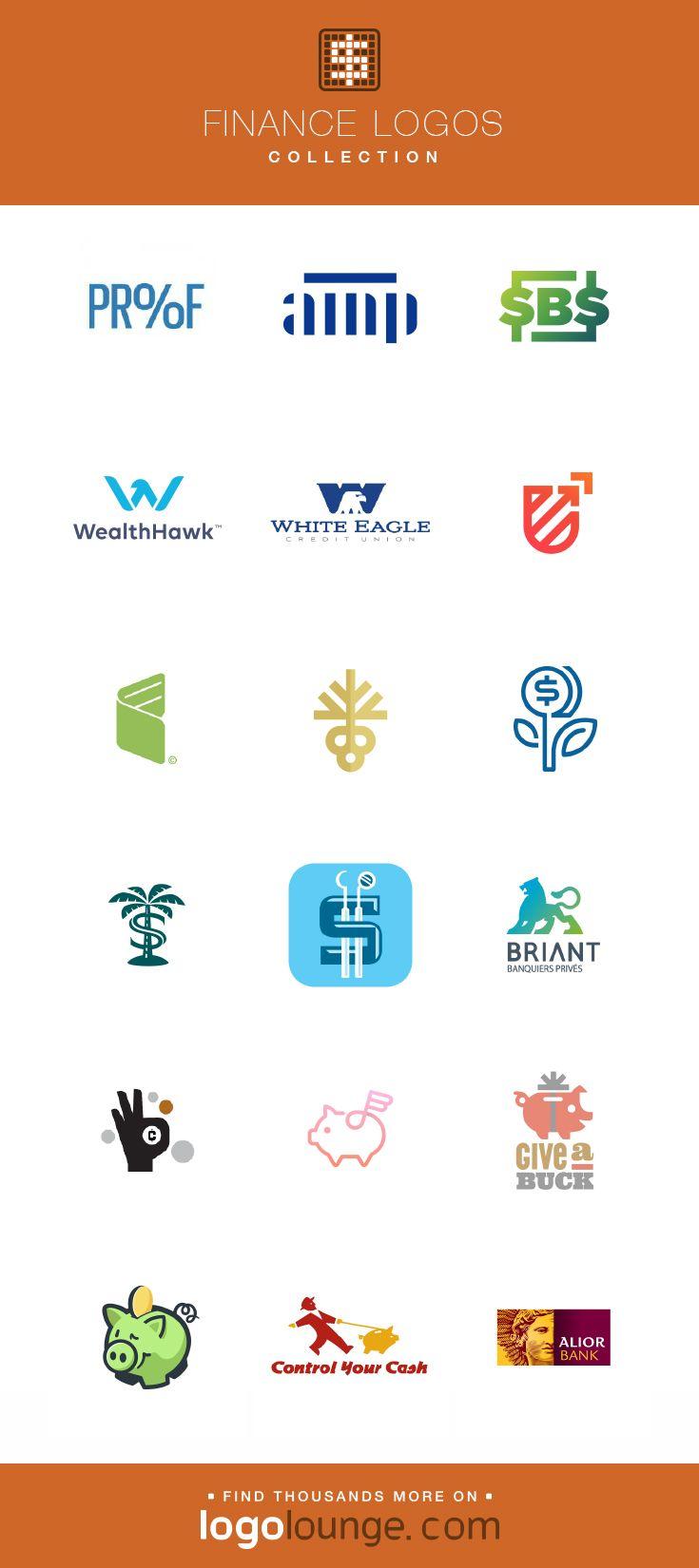 Logo Collection Finance Vector Logo Designs Dollar Signs