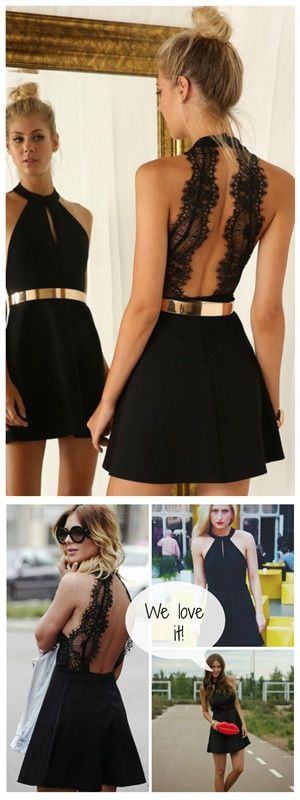 Little Black Dress is classy sexy trendy and perfect for wearing as a wedding dress or for dinner or drinks! - Lyfie
