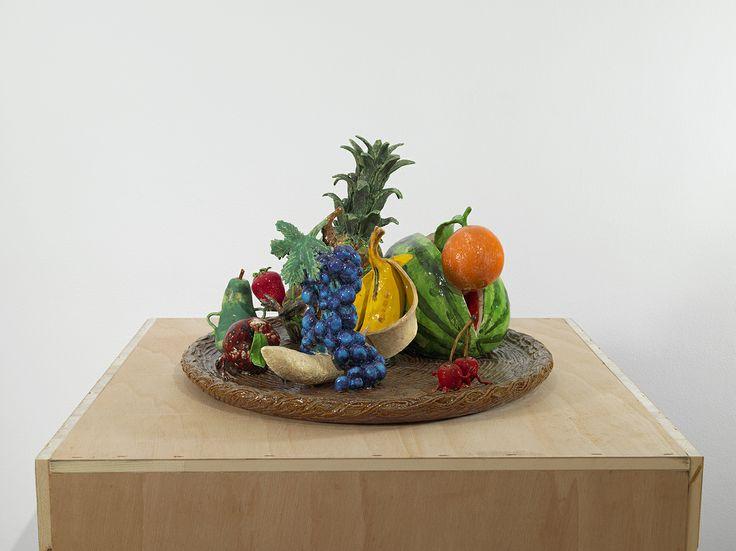 """Bernier/Eliades Gallery   Dionisis Kavallieratos   November 22, 2012 - January 17, 2013   """"Symposium """",2012   Ceramic   33 x 51 x 51cm   Photo by Boris Kirpotin"""