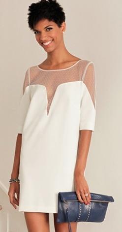 Cette robe Lily, c'est l'histoire d'une belle rencontre avec Rime Arodaky (créatrice de robes de mariée canons !) et donc celle de mon mariage civil :) Elle est à la fois chic & cool... - Sézane - 340 euros