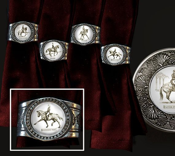 12 best horsey table top images on pinterest coaster set equestrian style and american - Dressage de table ...