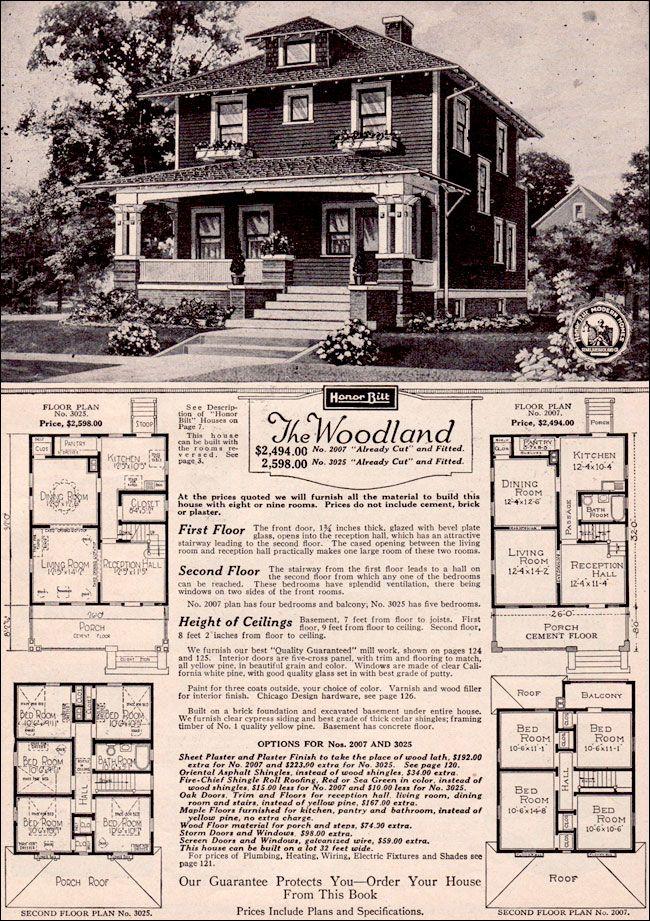 1923 Sears Kit House - Woodland