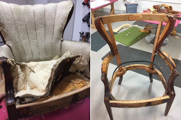 Is It Worth The Cost To Reupholster A Chair Kim S Upholstery Furniture Reupholstery Reupholstery Reupholster Furniture