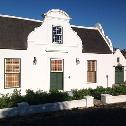 Typical Cape Dutch architecture