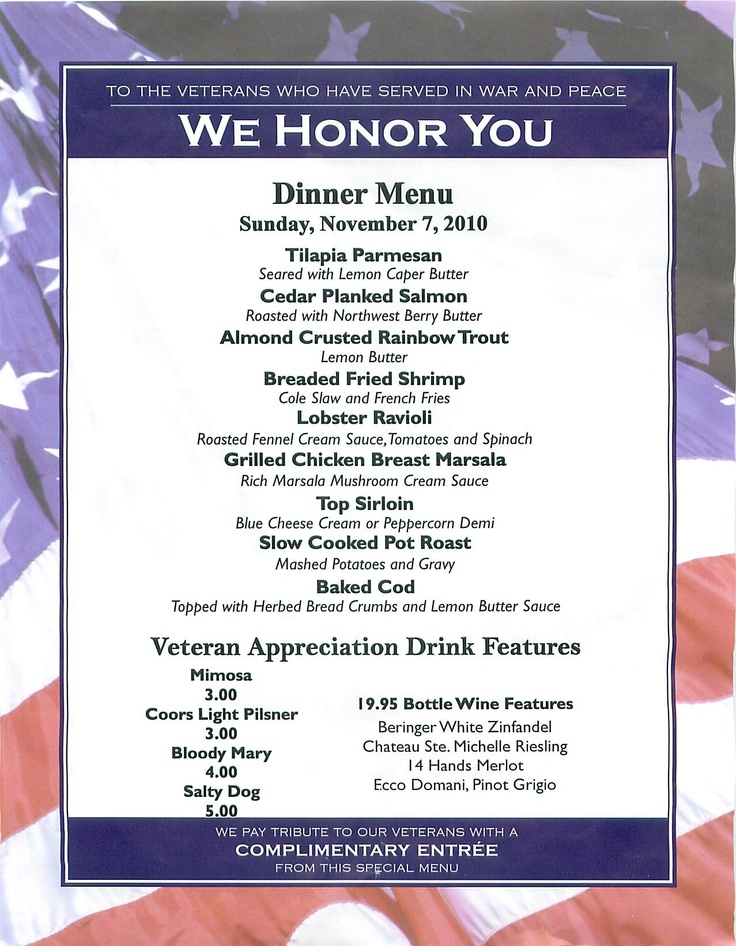 Free Food Veterans Day Kansas City