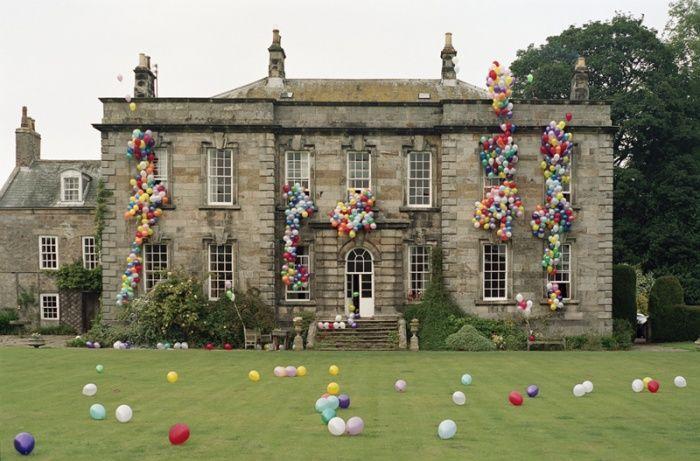 Eglingham Hall and Balloons by Tim Walker #walkerBirthday Parties, Dreams, Timwalker, Castles, English Manor, Tim Walker, Manor House, Balloons, Mansions