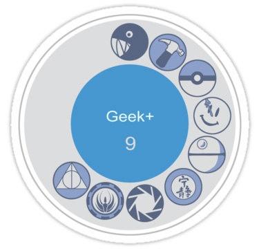 Geek+ Sticker, for the true G+ fan