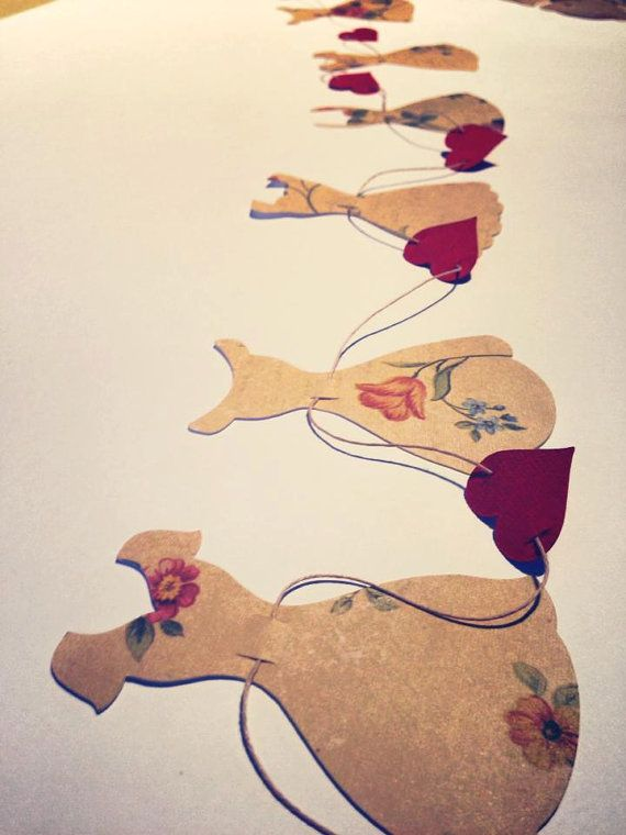 Vintage Dress Garland by RubyCanoeDesign, $12.00