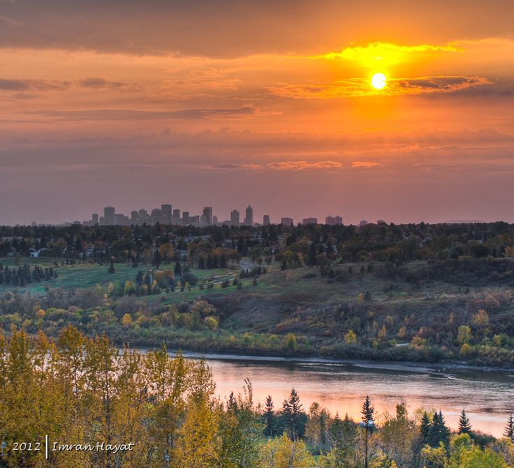Edmonton, Alberta - Edmonton River Valley which is 22 times larger than Central Park