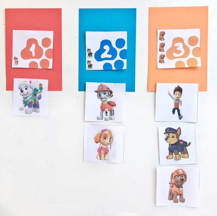 Paw Patrol Learning Activity With Free Printables With