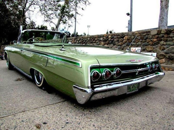 Slick sled 62 chevrolet convertible
