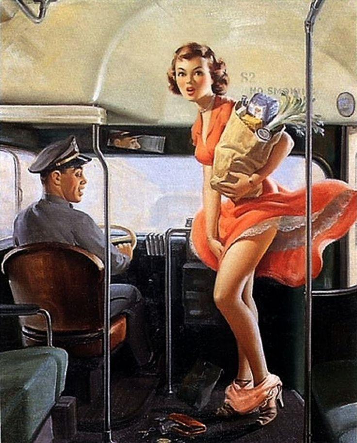 Art Frahm - D.W.C. Pin-up Art