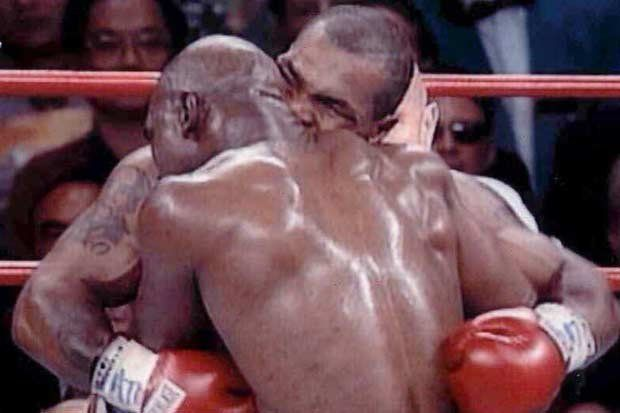 On June 28, 1997, Mike Tyson was disqualified for biting Evander Holyfield's ear during their WBA fight. See how much you know about these biting incidents in sports history with some trivia!