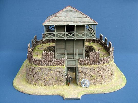 Roman watchtower terrain piece