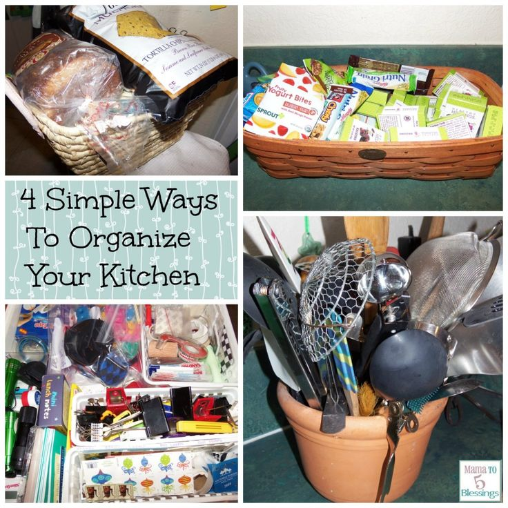 ways to organize your kitchen 4 simple frugal ways to organize your kitchen http 8924
