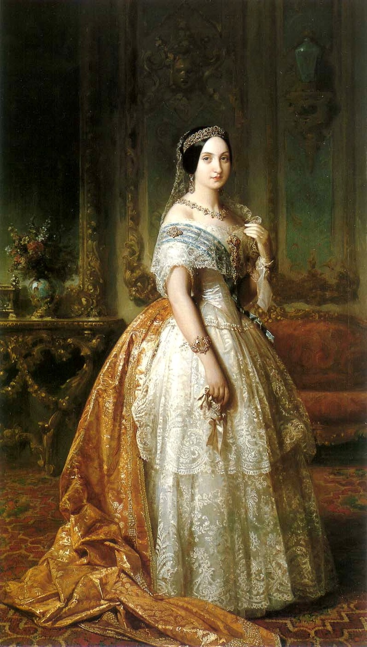 Federico de Madrazo y Kuntz  Portrait of Infanta Luisa Fernanda of Spain, Duchess of Montpensier