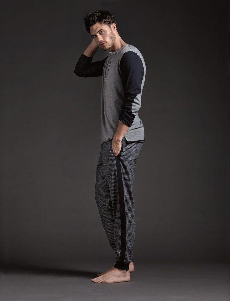 #Μινιμαλισμός και #casual αποχρώσεις αλλά και #arty_prints αποτελούν το στυλ του #Intimissimi #Man. #Minimal #look #t-shirts #pijamas