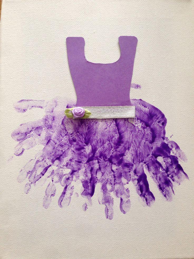 Ballerina handjes paars