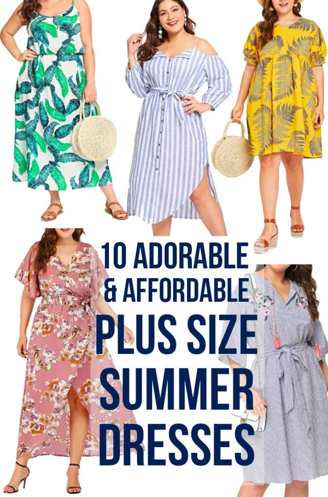 10 Cute (& affordable!) Summer Plus Size Dresses: what to wear this ...