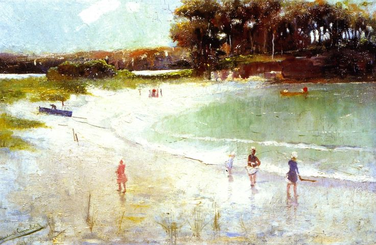 Balmoral Beach Painting by Charles Conder