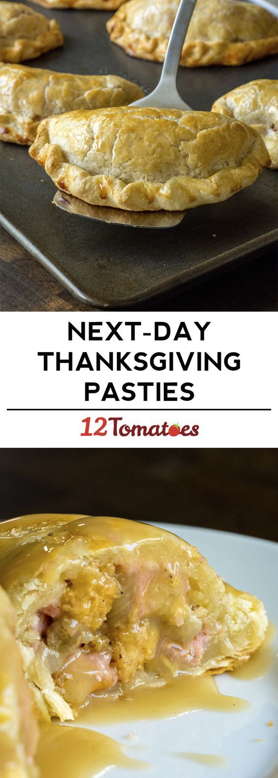 Thanksgiving Pasties! The tastiest way to eat your leftovers.