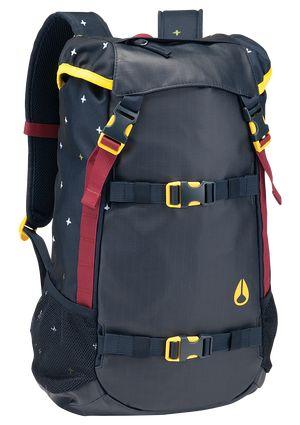 Landlock Backpack - Midnight Navy   Nixon Mens Bags & Wallets
