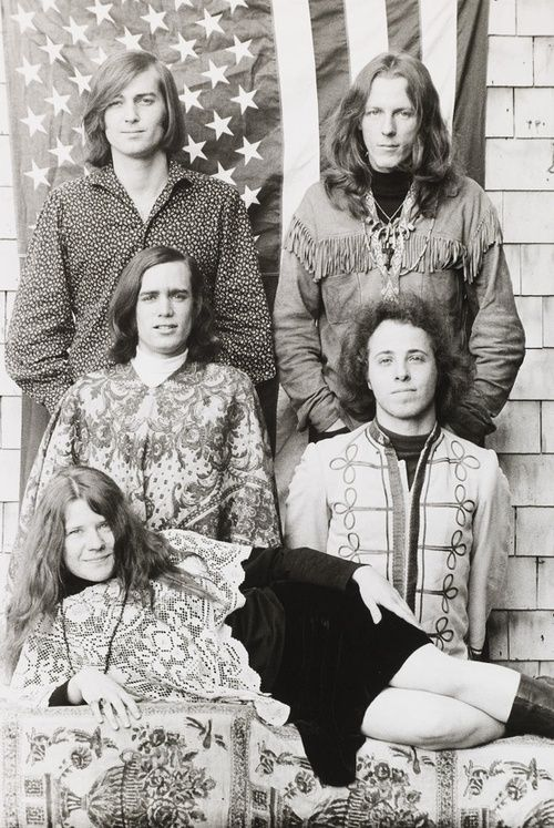 Janis Joplin with Big Brother & the Holding Company...