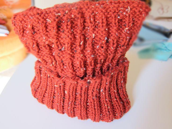 Tutorial cappellino ai ferri