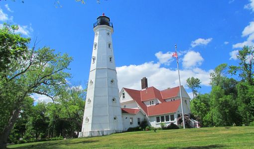 Wisconsin -  Admission - North Point Lighthouse