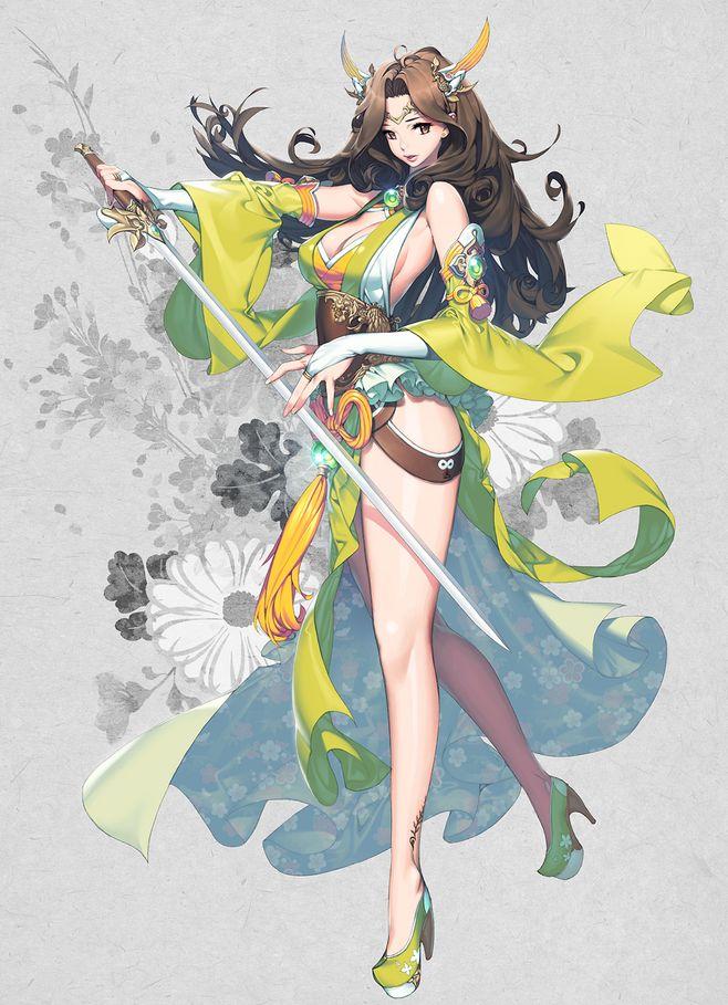 oriental illust