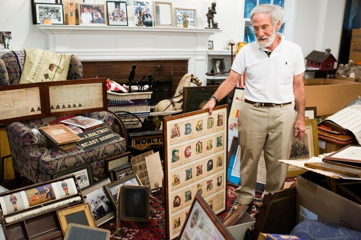 A is for abacus, O is for outhouse seat: Educator donates collection to Smithsonian - The Washington Post  Washington Post, by Michael E. Ruane    Original Article