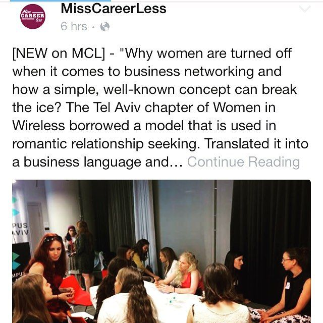 Read our #review of a unique #networking #experience in #tlv - the #startup #nation✌️ #women #empowerement #power #business #success #followers #followus