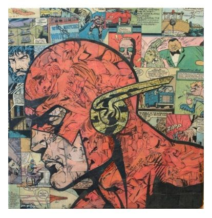 'Flash' collage by Mike Alcantara.