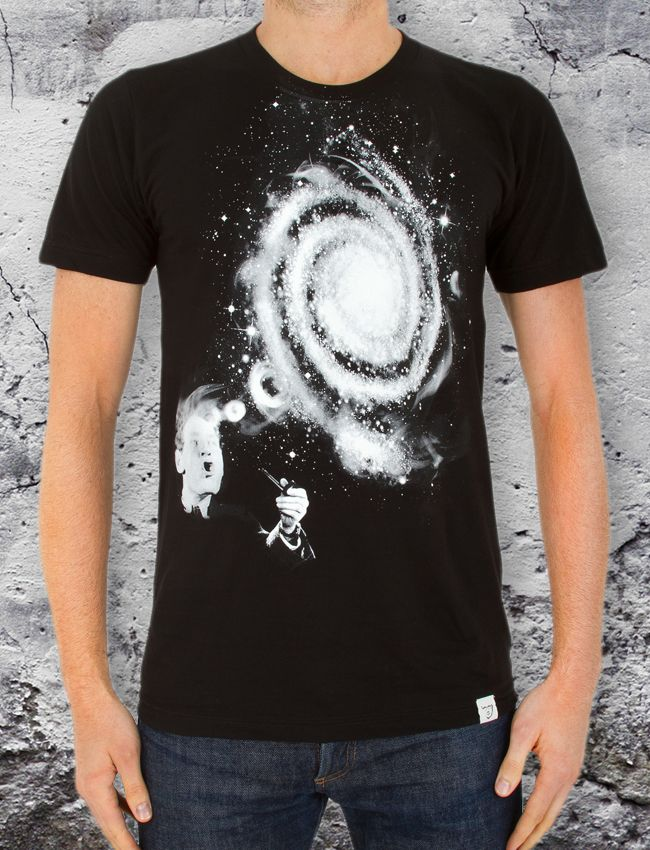Smoke Rings Men's T - We are part of the universe and the universe is part of us.