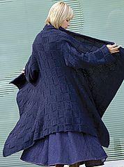 Ravelry: Blanket Coat pattern by Elsebeth Lavold