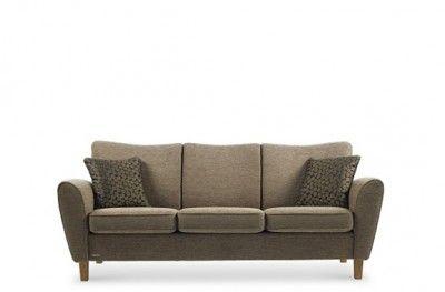Malin modulsofa sofa couch norwegian design brunstad 3 seat brown fabric system+ www.helsetmobler.no