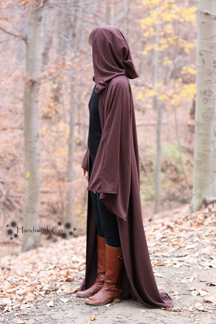 DIY how to guide for making a Jedi robe.