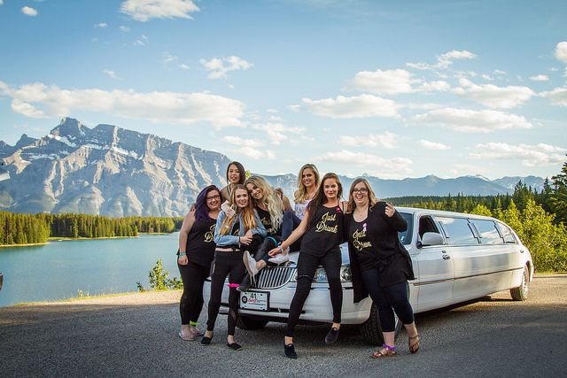 #Beautiful day for photos with these #girls! Congratulations, have fun at the #wedding!   #limousine #limo #photography #tour #bachelorette #party