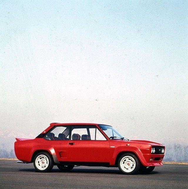 Fiat 131 Abarth Stradale Fiat Motor Car Classic Cars