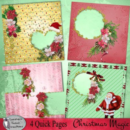 Christmas Magic quick pages