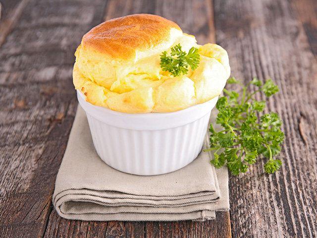 Сырное суфле: пошаговый рецепт с фото