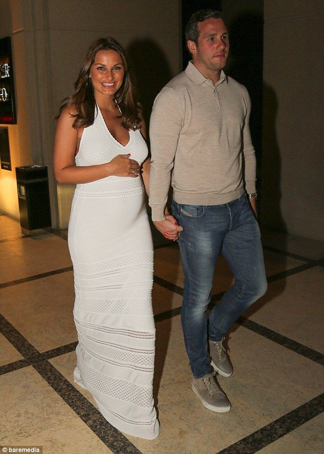 Don't mind if we do: Pregnant Sam Faiers beamed from ear-to-ear as she and boyfriend Paul ...