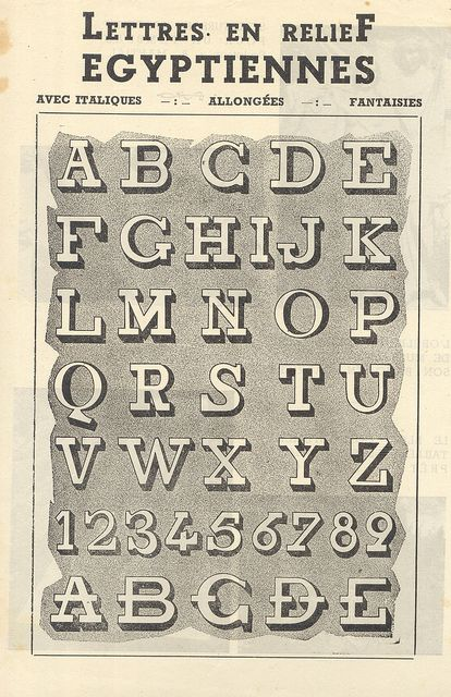 alphabets 3 by pilllpat (agence eureka), via Flickr