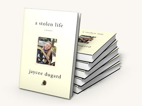A Stolen Life, by Jaycee Dugard. Find this book in the library catalog -- https://bark.cwmars.org/eg/opac/record/1215296?bool=and;bool=and;bool=and;qtype=title;qtype=author;qtype=keyword;contains=contains;contains=contains;contains=contains;query=a%20stolen%20life;query=dugard;query=;locg=291;pubdate=is;_adv=1