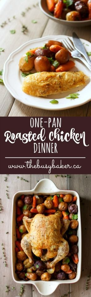 1022 best 30 minute dinner recipes images on pinterest vegan easy one pan roasted chicken dinner forumfinder Choice Image