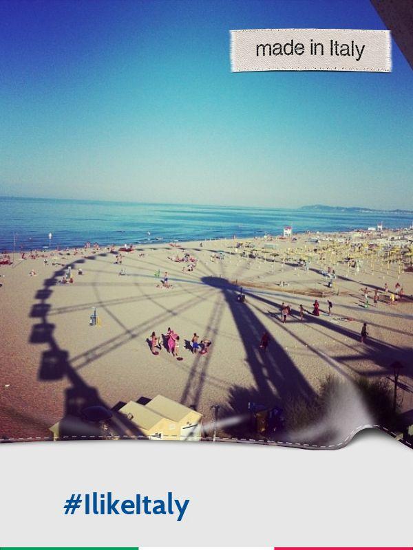 @Gioghi_13: Lungomare dalla Ruota Panoramica di #Rimini #ilikeitaly
