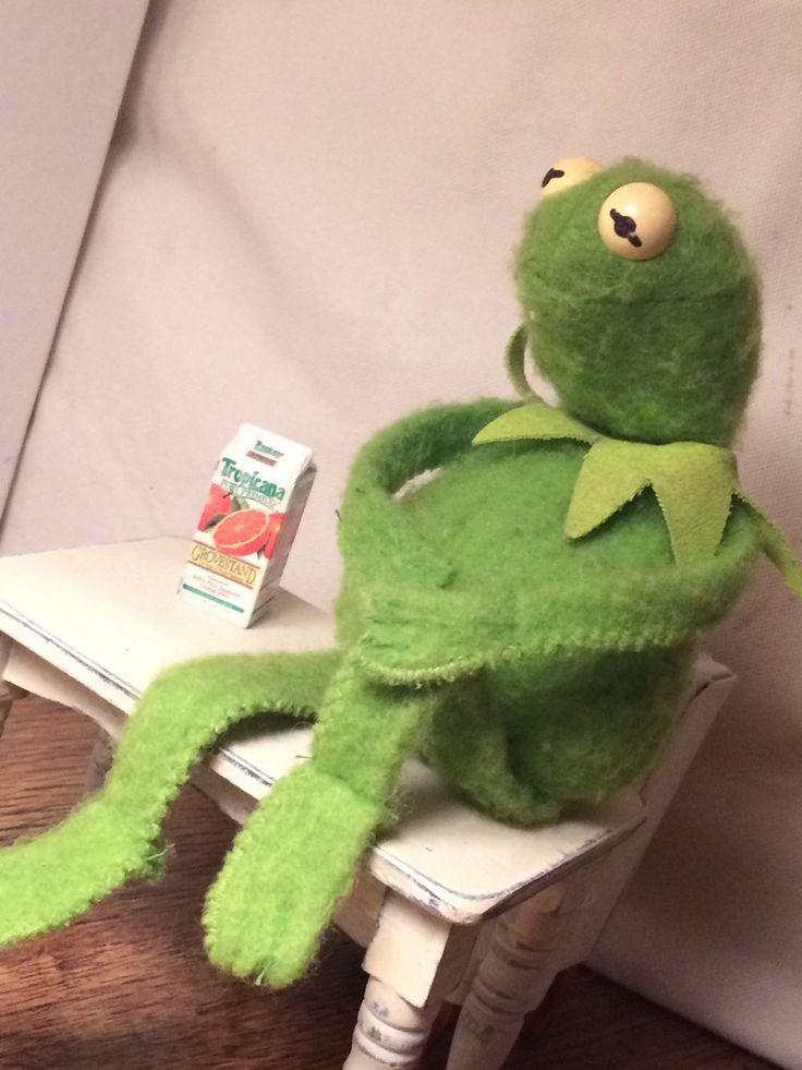 Contemplating kermit | Frogy | Pinterest | Sapo e Memes