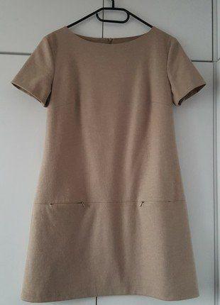 Kup mój przedmiot na #vintedpl http://www.vinted.pl/damska-odziez/krotkie-sukienki/17138326-sukienka-bez-welna-trapez-cotton-club-klasyka